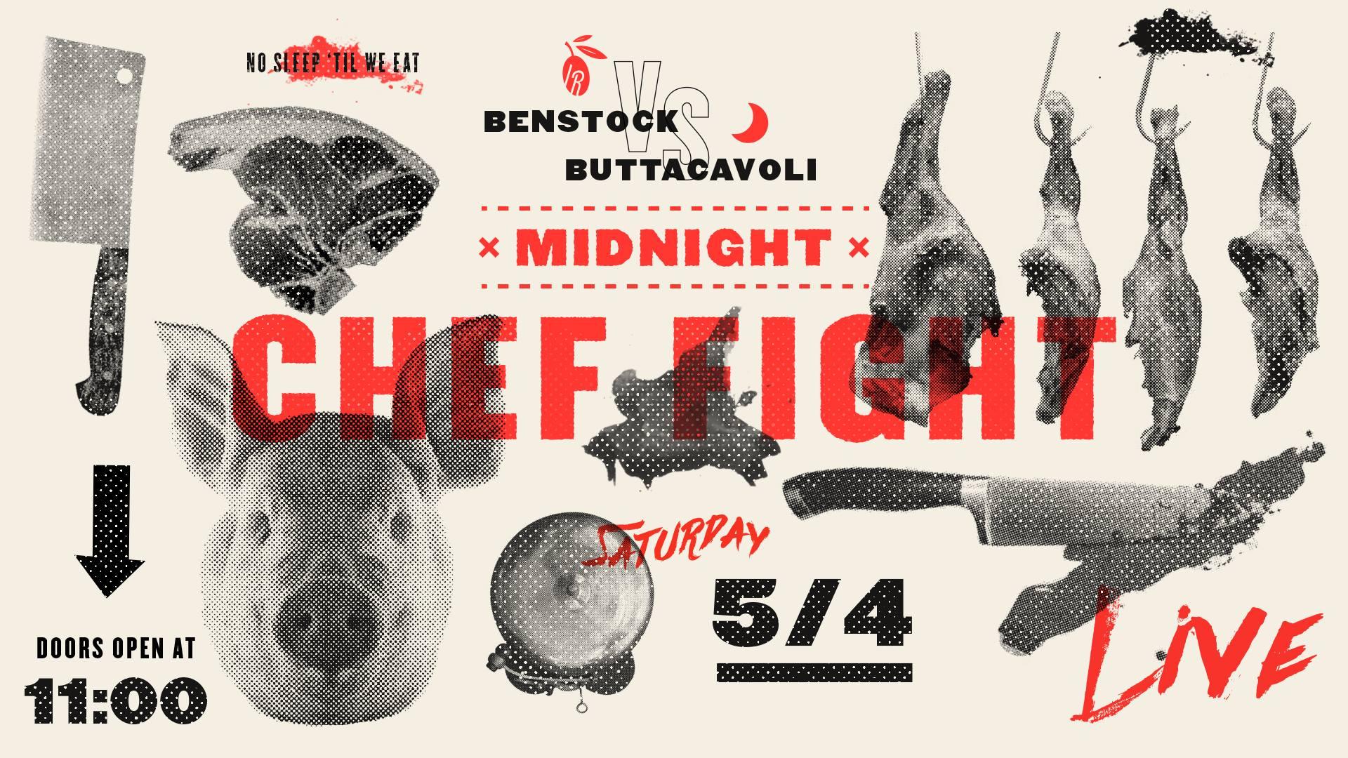 IL RITORNO TO HOST 'MIDNIGHT CHEF FIGHT' SERIES, LAUNCHING IN MAYIL RITORNO TO HOST 'MIDNIGHT CHEF FIGHT' SERIES, LAUNCHING IN MAY