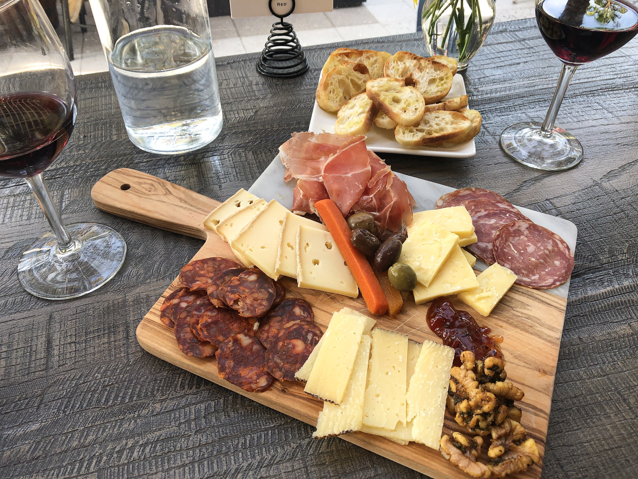 Custom Cheese and Charcuterie Board from Bacchus