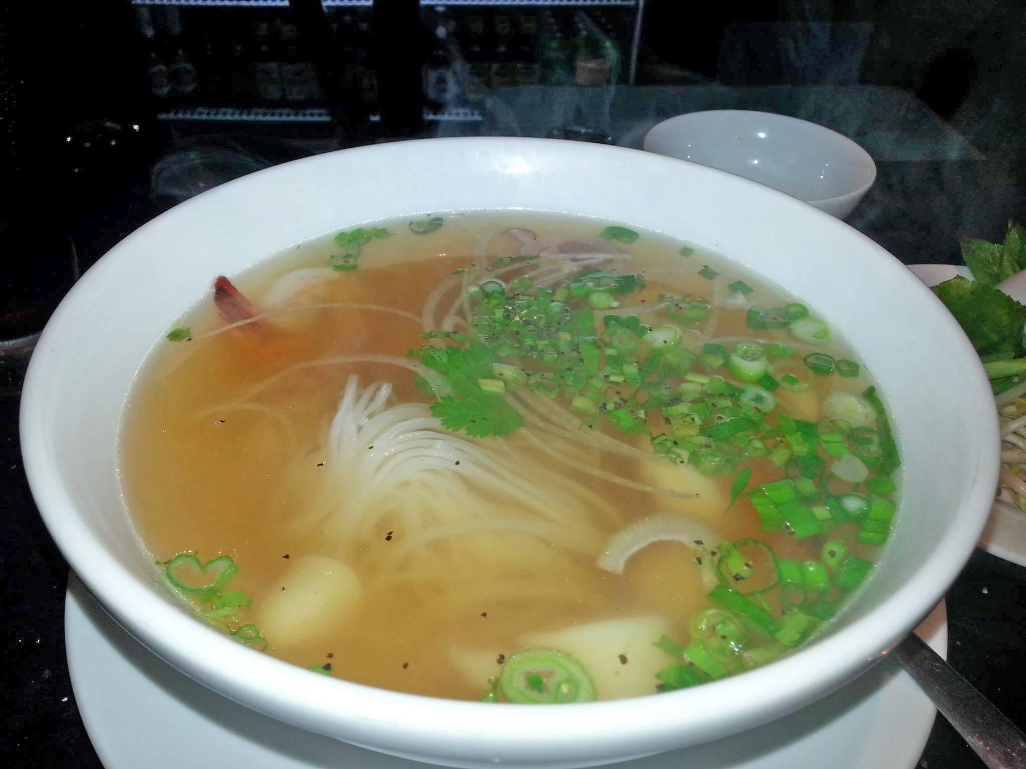 Seafood Pho at La V Vietnamese Fusion