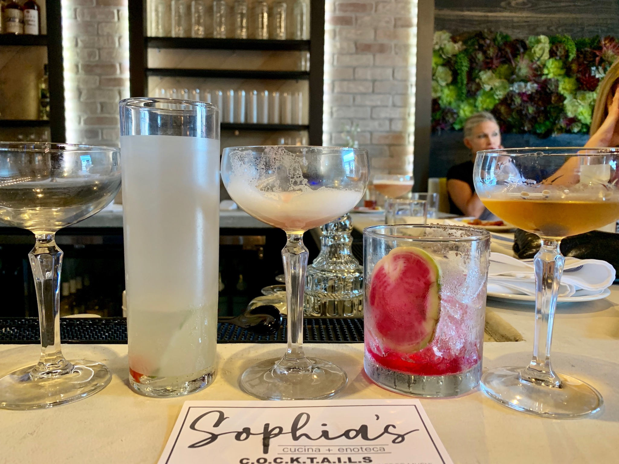 Sophia's Drink Choices