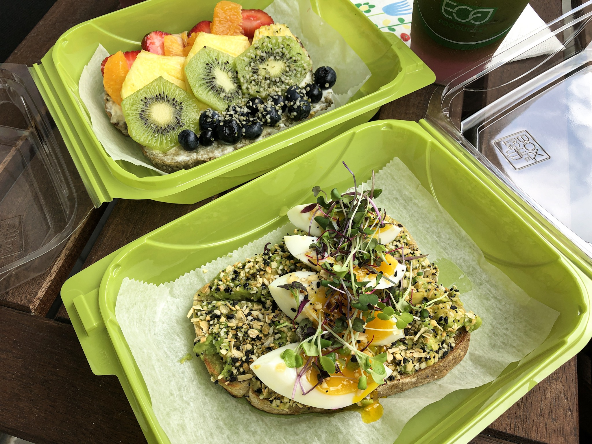 Everything Avocado Toast and the Pride Special