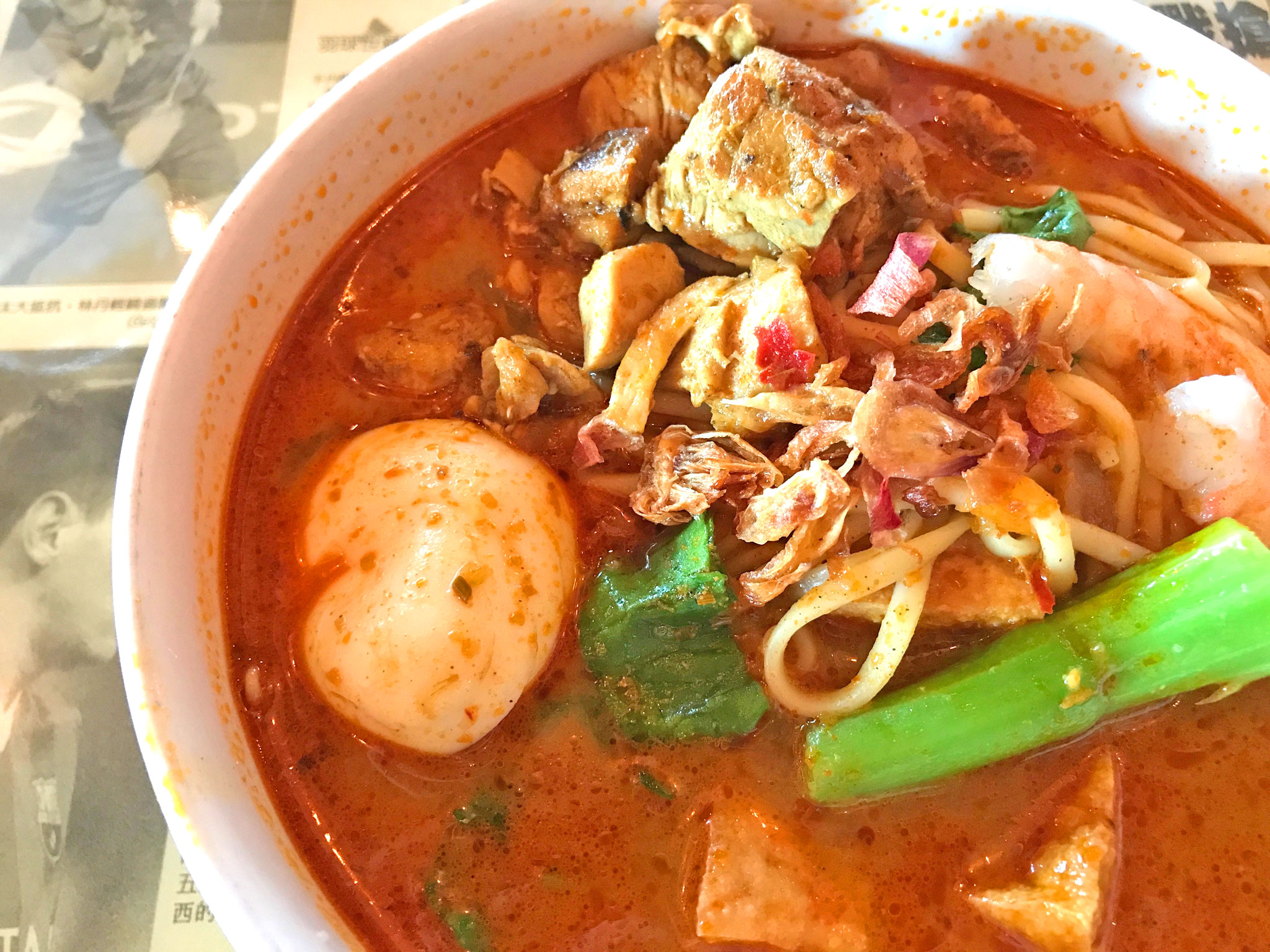 Hawker's Curry Laksa