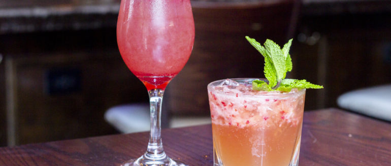 The New Boozy Drink Menu at Caddy's on Central is Here and is Perfect For Summertime