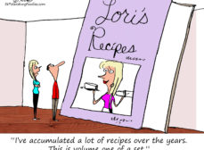If This is Lori's Recipe Book, We're Afraid to See Abby's