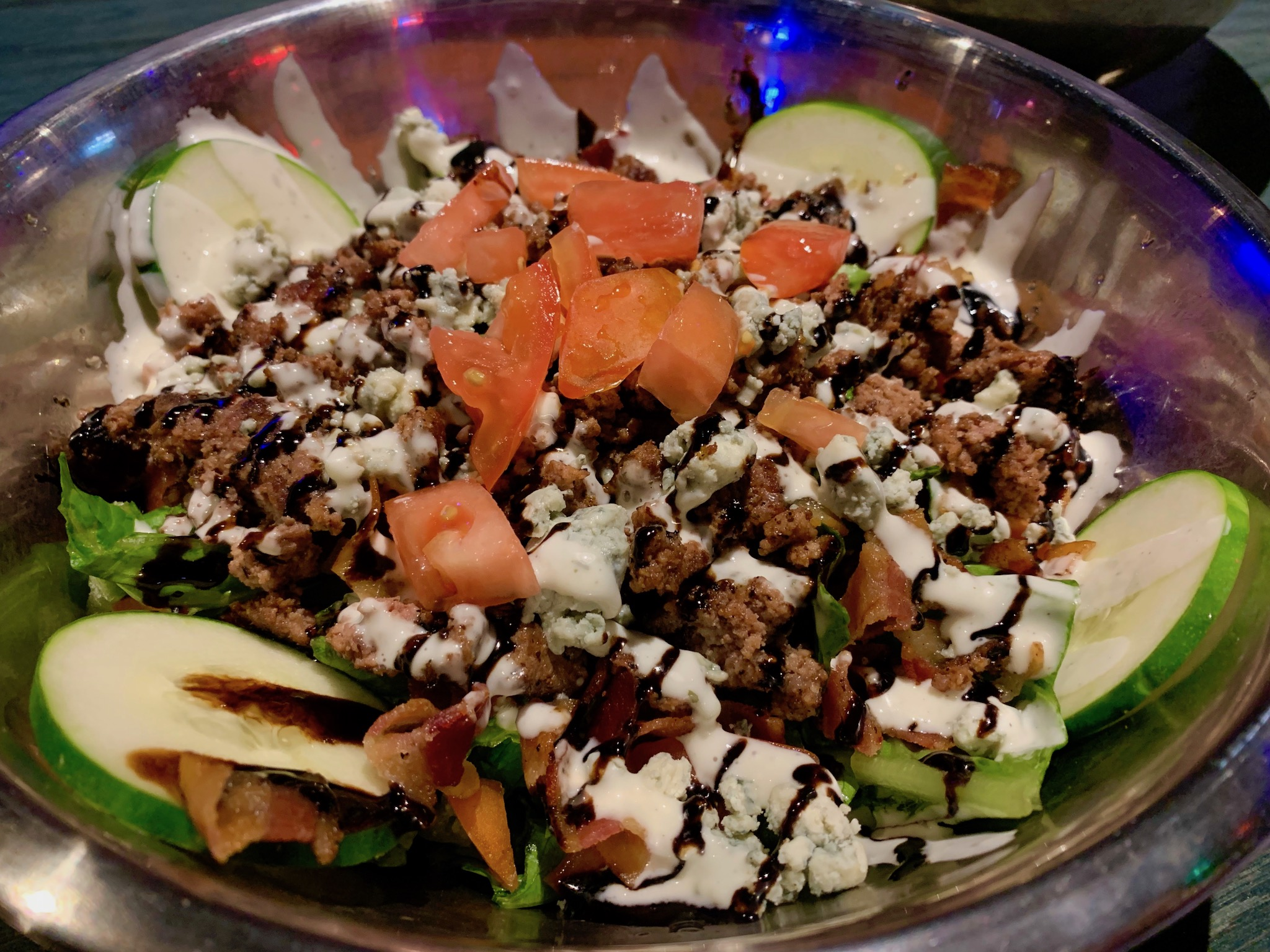 Salty J's - Tossed BIG BLEU Salad