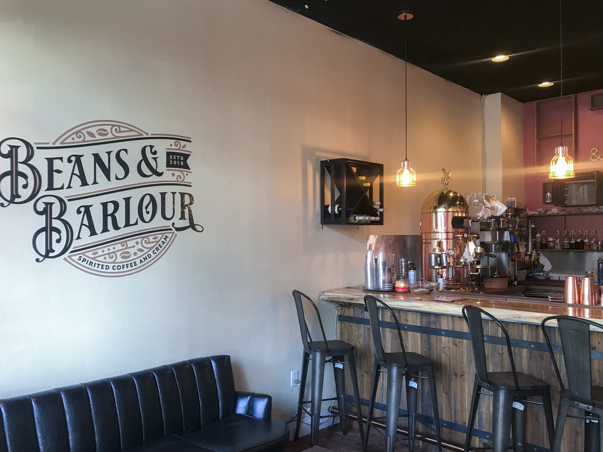 Beans & Barlour Interior