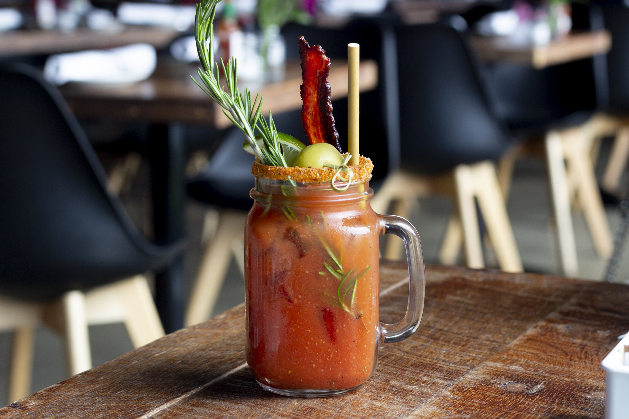 Zesty Bloody Mary from Noble Crust