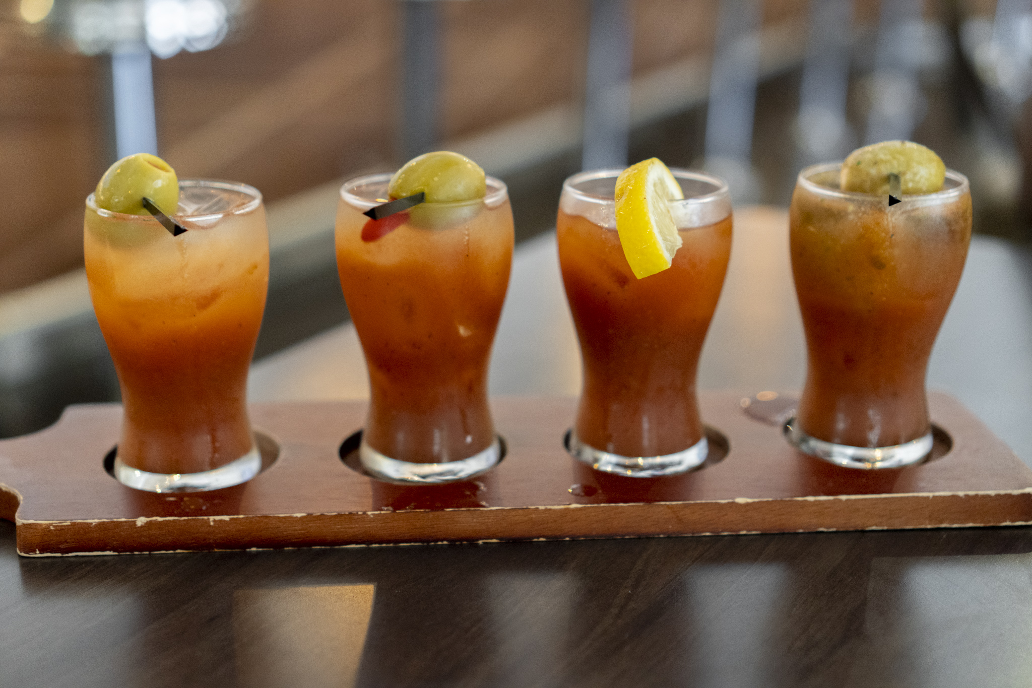 2nd & Second Bloody Mary Flight