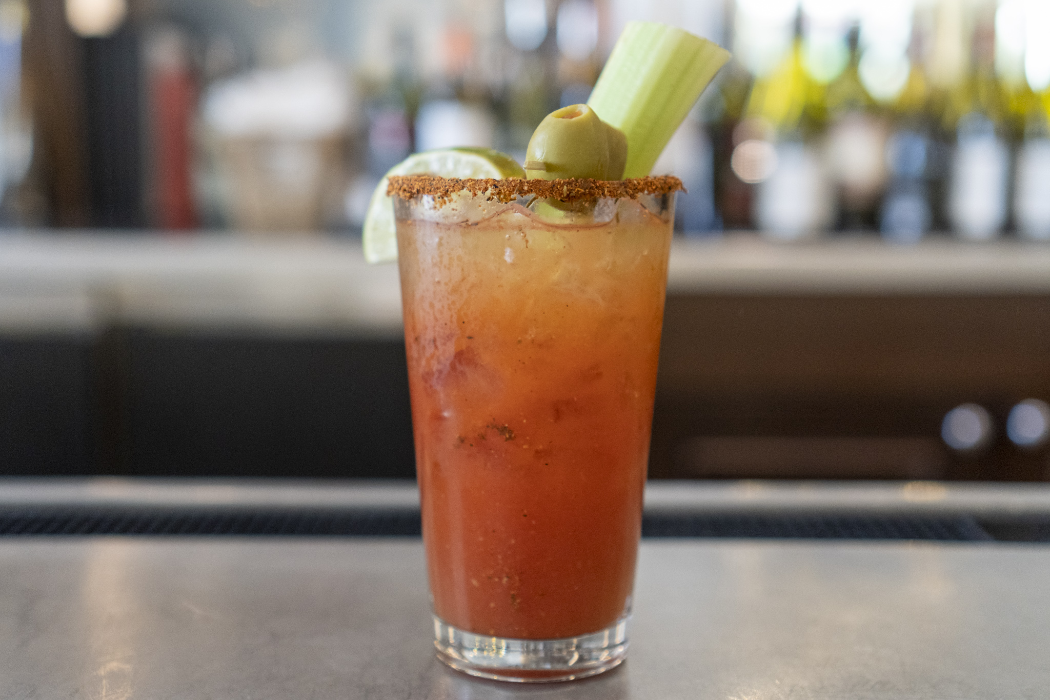 Cassis Bloody Mary