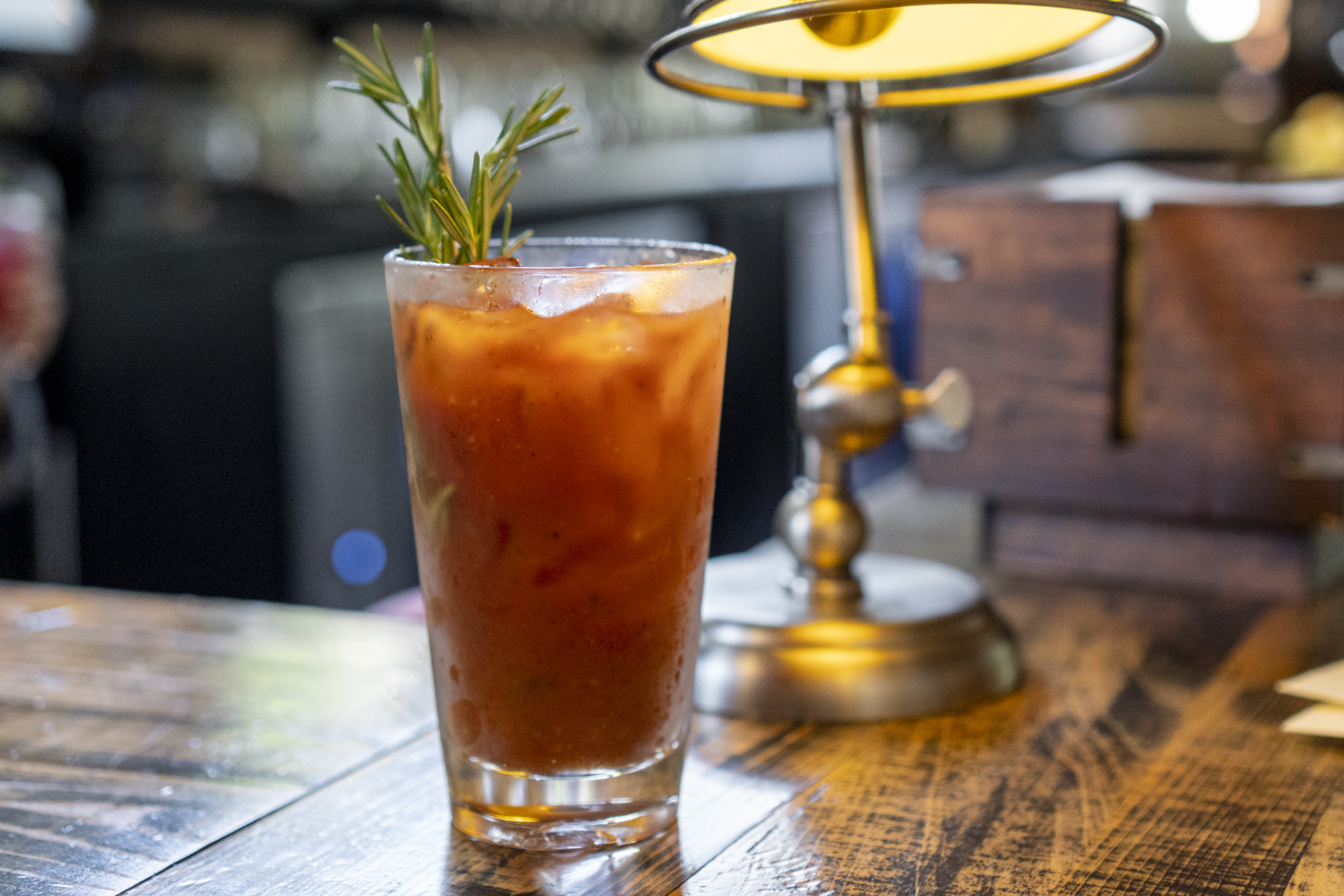 The Rosemary Bloody Mary from Stillwaters Tavern