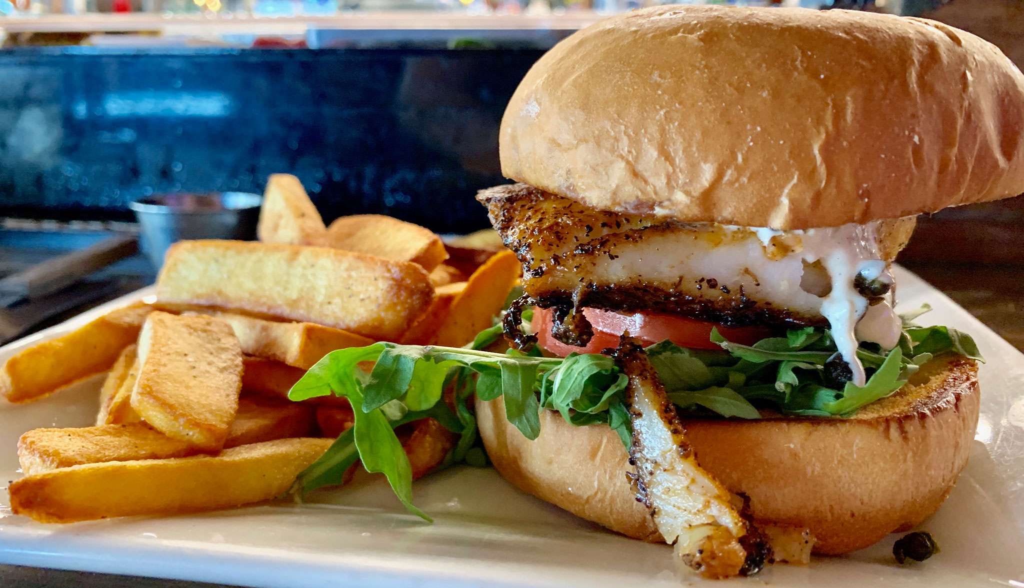 The Galley's Grouper Sandwich