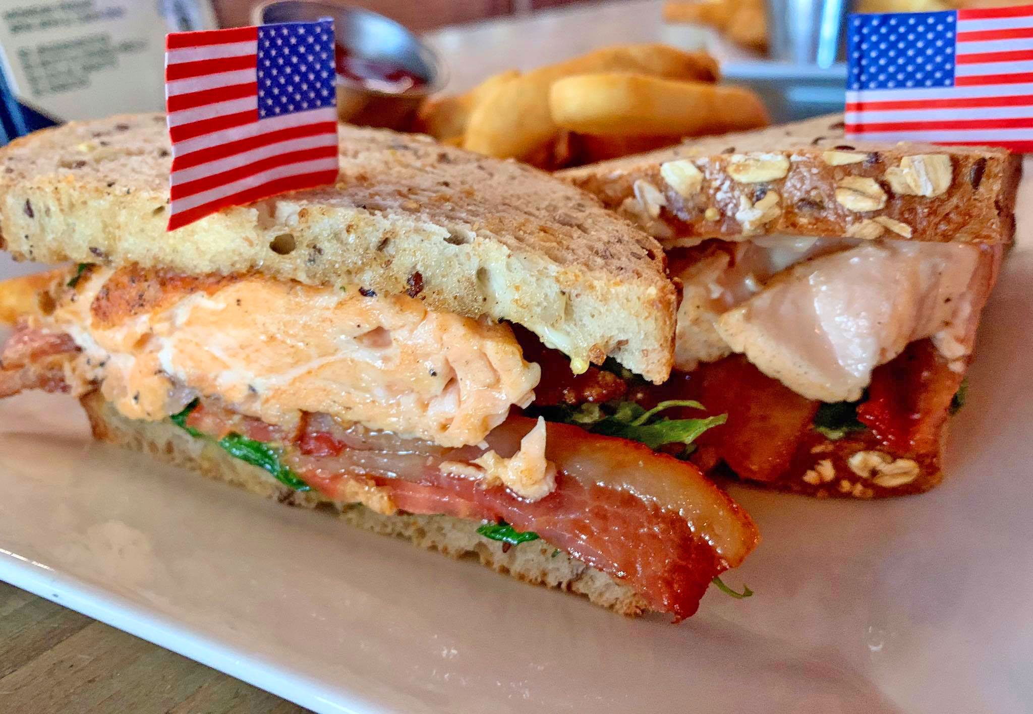 The Galley - Salmon BLT