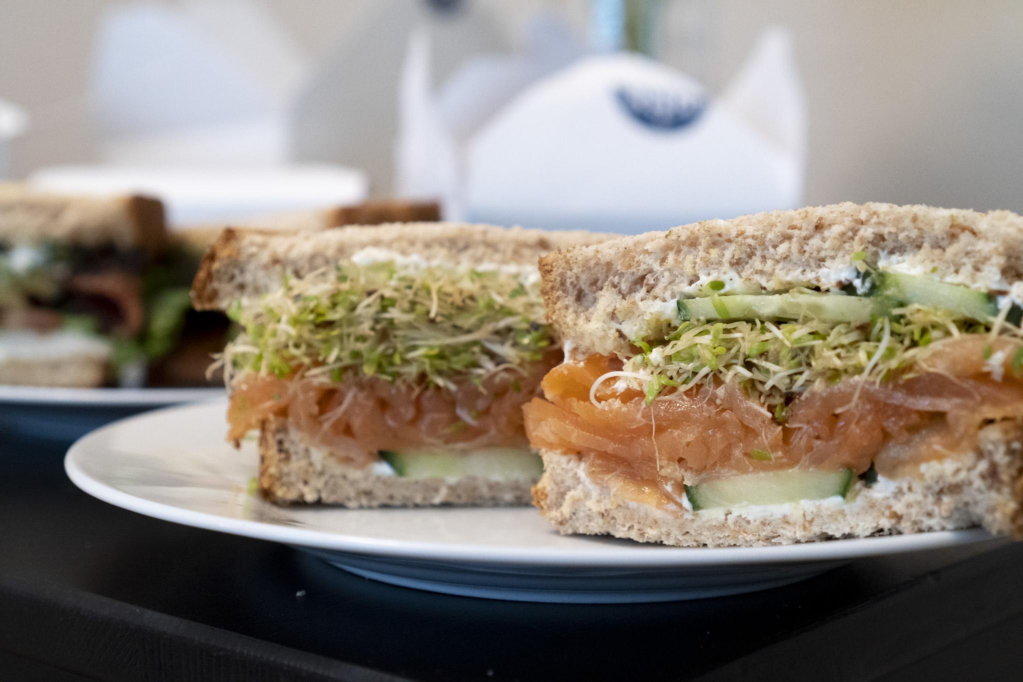 Cassis - Smoked Salmon