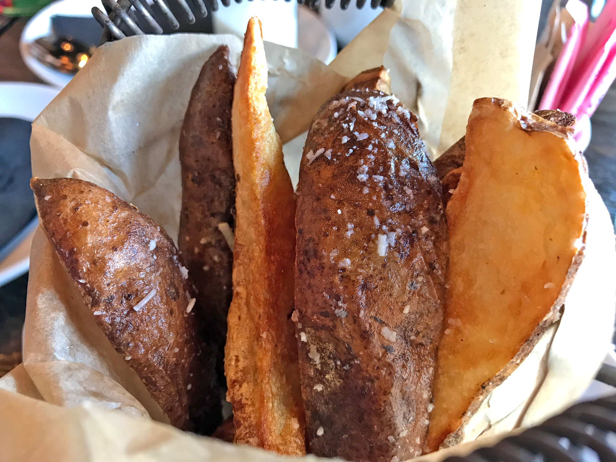 The Mill's Potato Wedge Fries