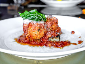 The Urban Stillhouse Veal Meatballs