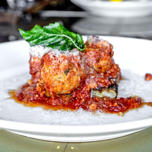The Urban Stillhouse Veal Meatballs