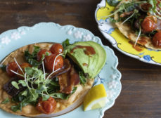 BLT Tostadas with Tomato Confit Recipe