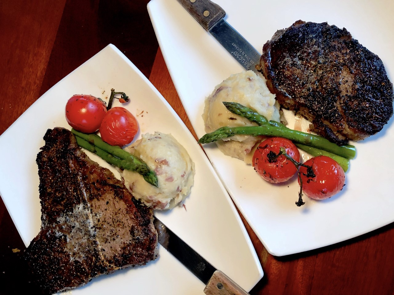 MadFish T-Bone and Angus Ribeye