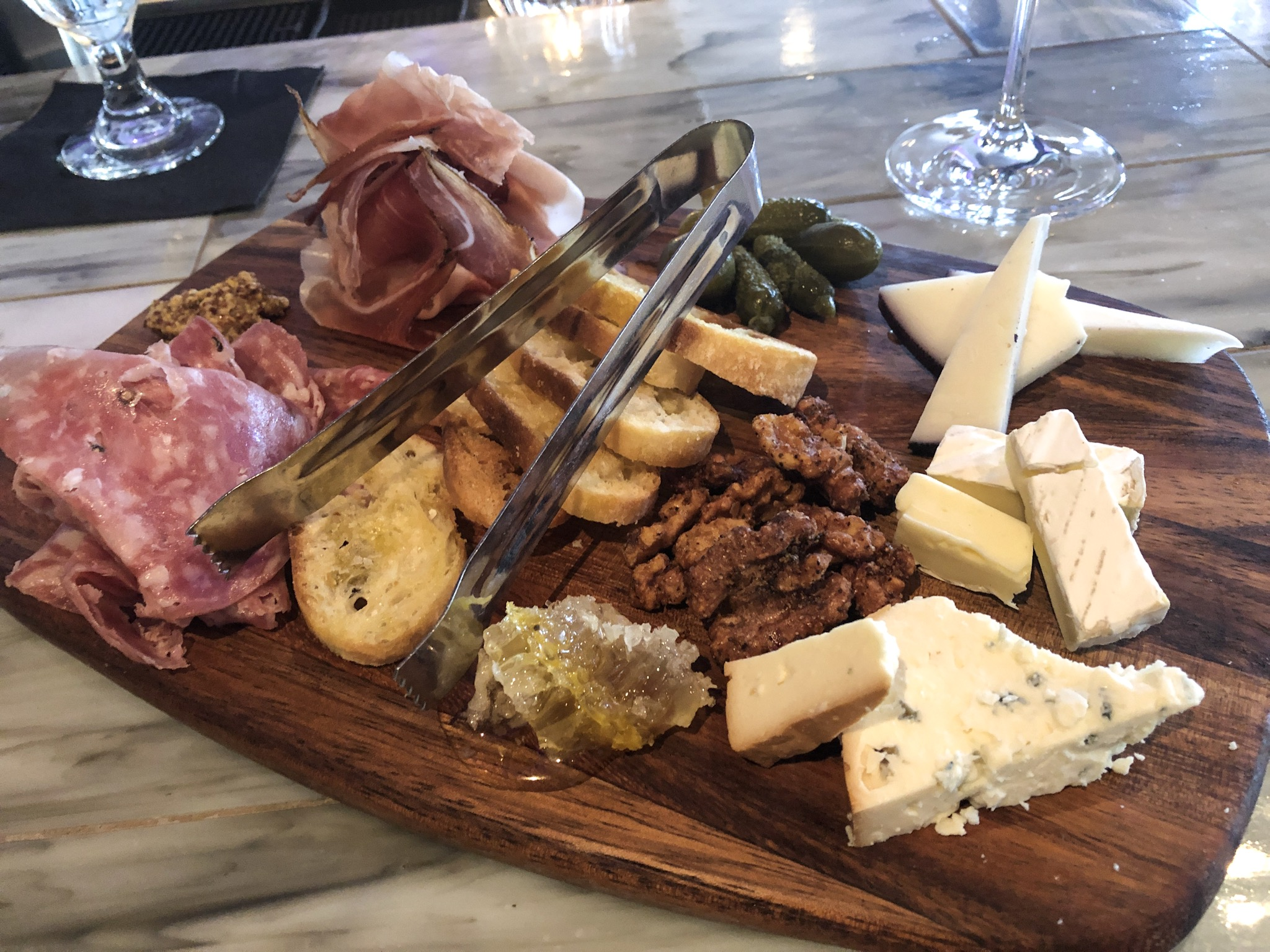 The small Charcuterie Board from Rococo
