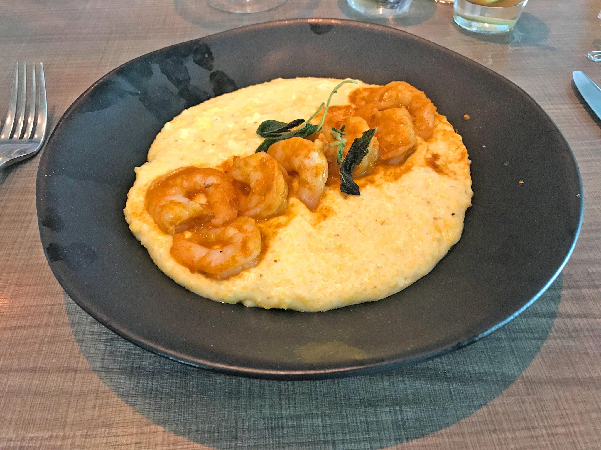 Chorizo Shrimp & Grits