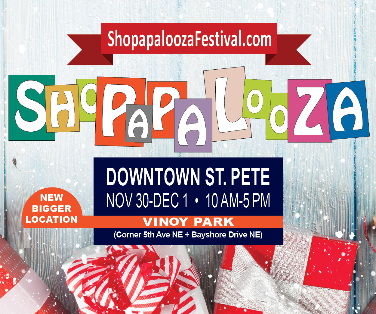 Shopapalooza Event November December 2019