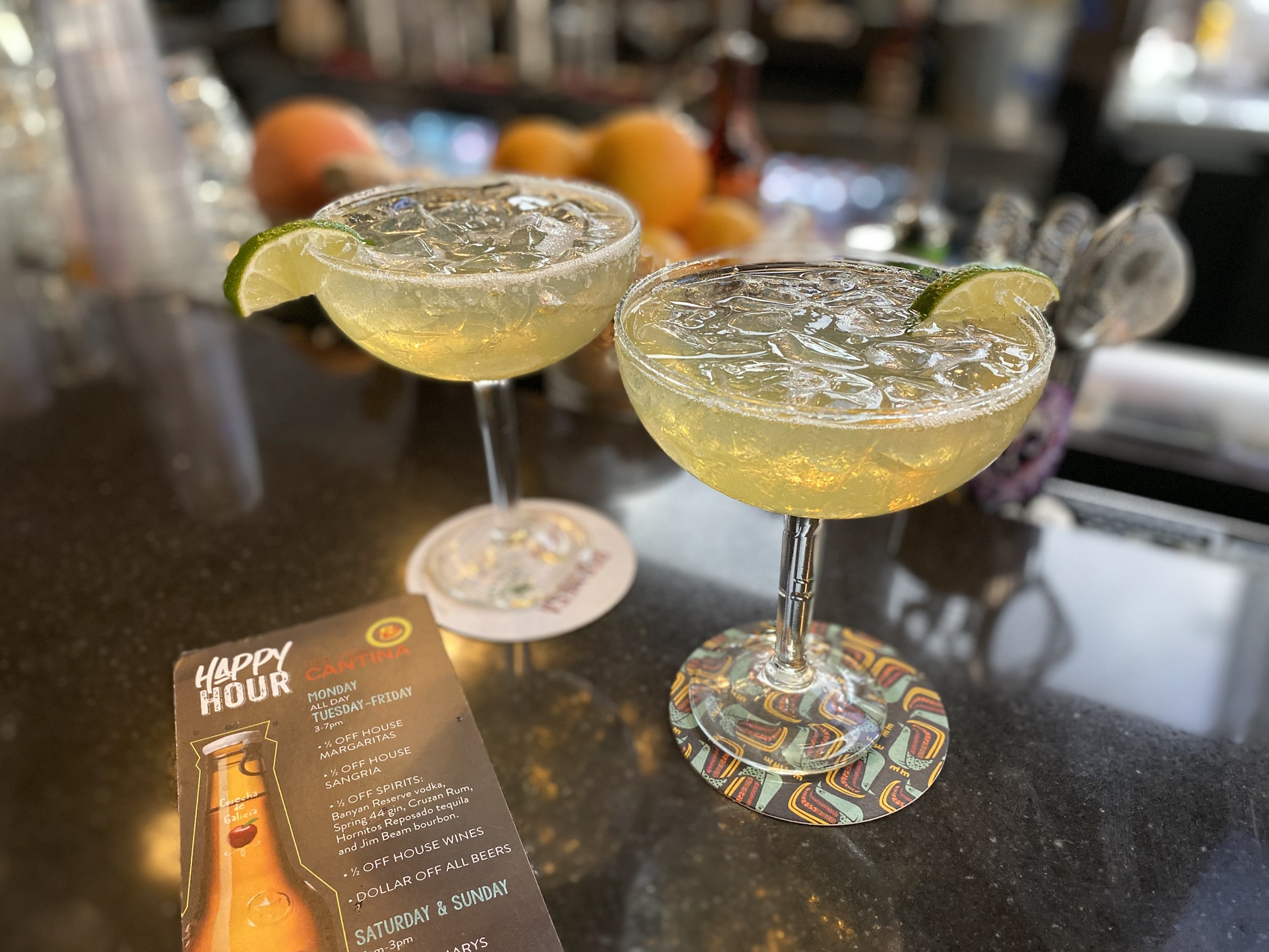 Half PriceHouse Margaritas from Red Mesa