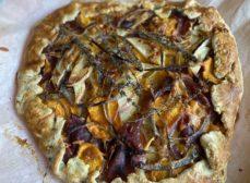 Sweet Potato, Prosciutto and Apple Galette Recipe