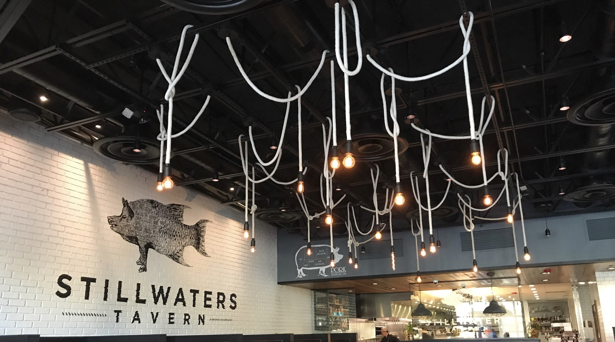 The beautiful interior or Stillwaters