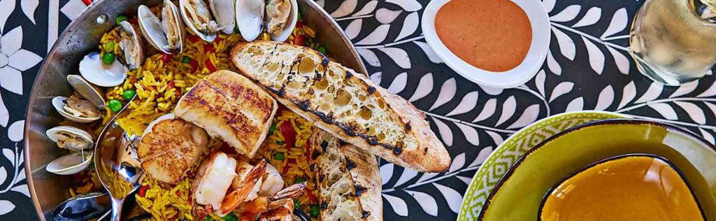 Seafood Paella - Image via facebook.com/castilerestaurant