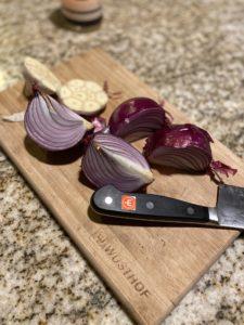 Onion and Garlic pre-broth