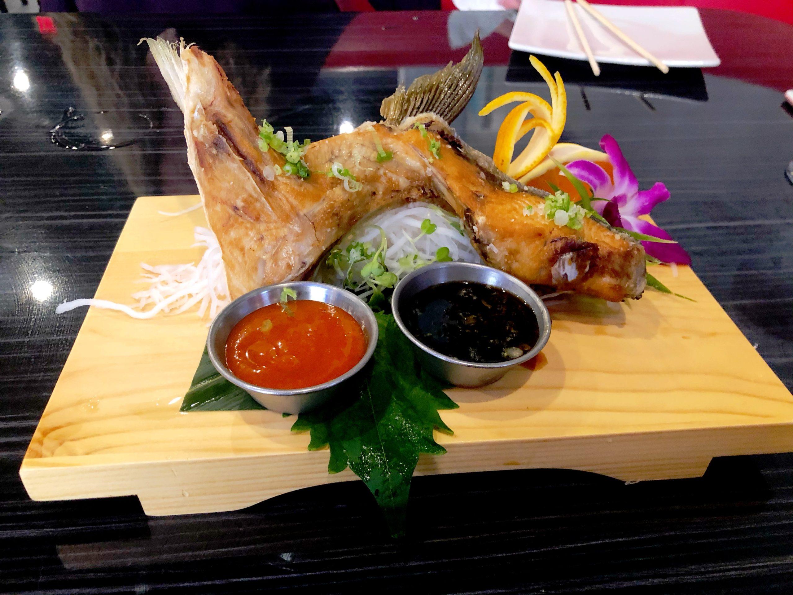 Sam's Sushi Hamachi Kama