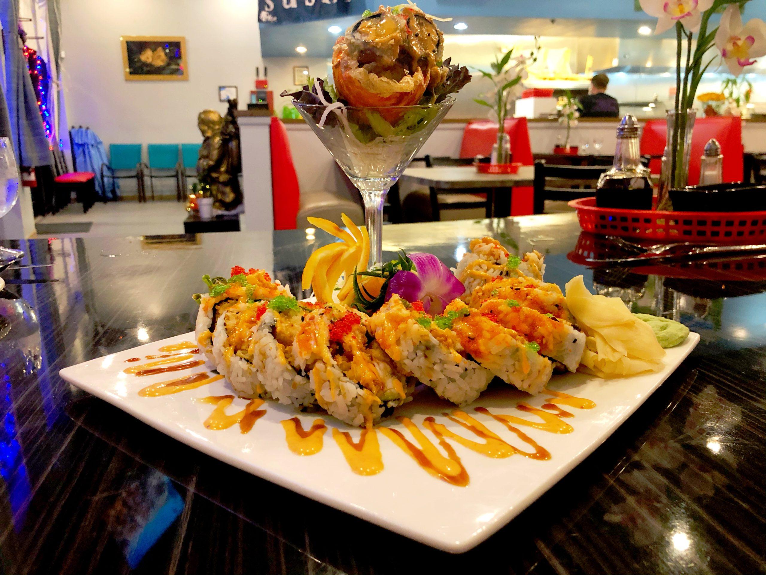 Sam's Sushi Lobster Roll