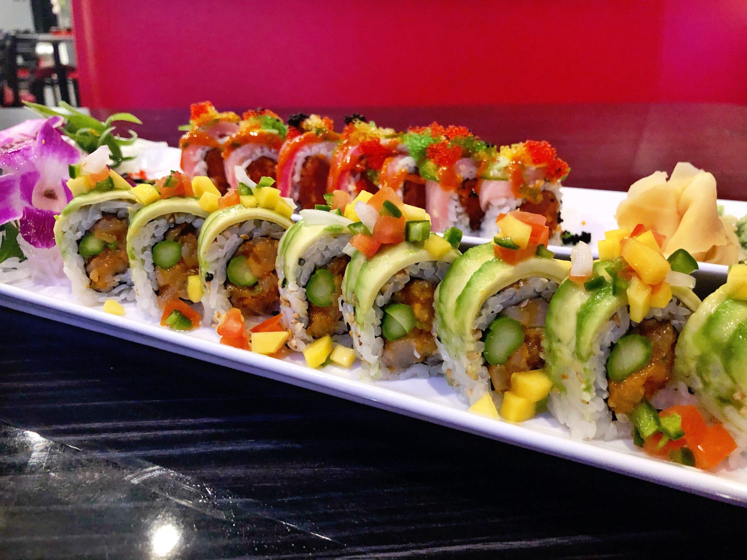 Sams Sushi Tiger Roll