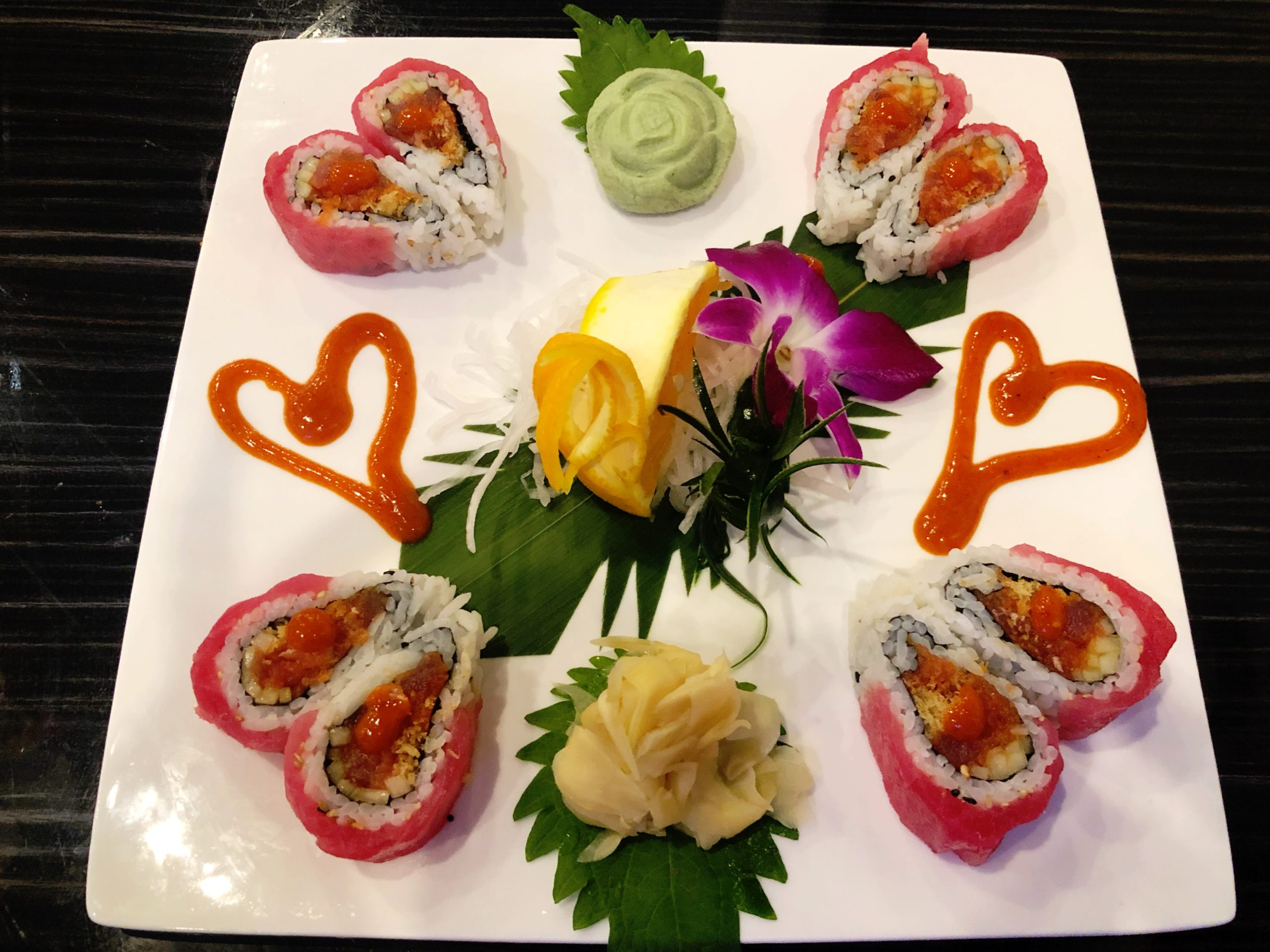 Sam's Sushi Valentine Roll