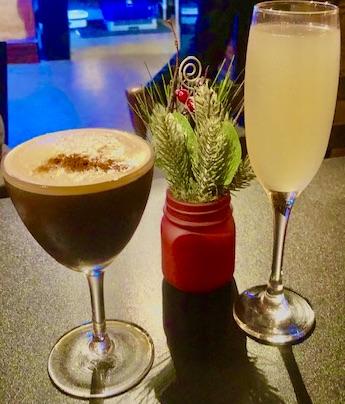 Copa Restaurant Black Irish and Moonwalk Drinks