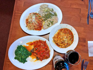 Cafe Cibo Dishes