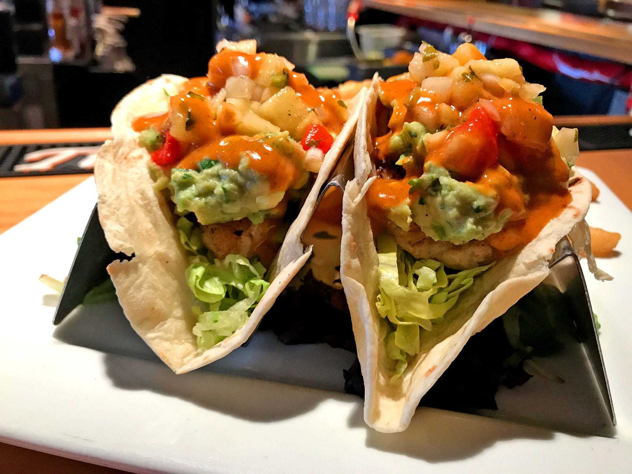 Chill Restaurant Fish Tacos