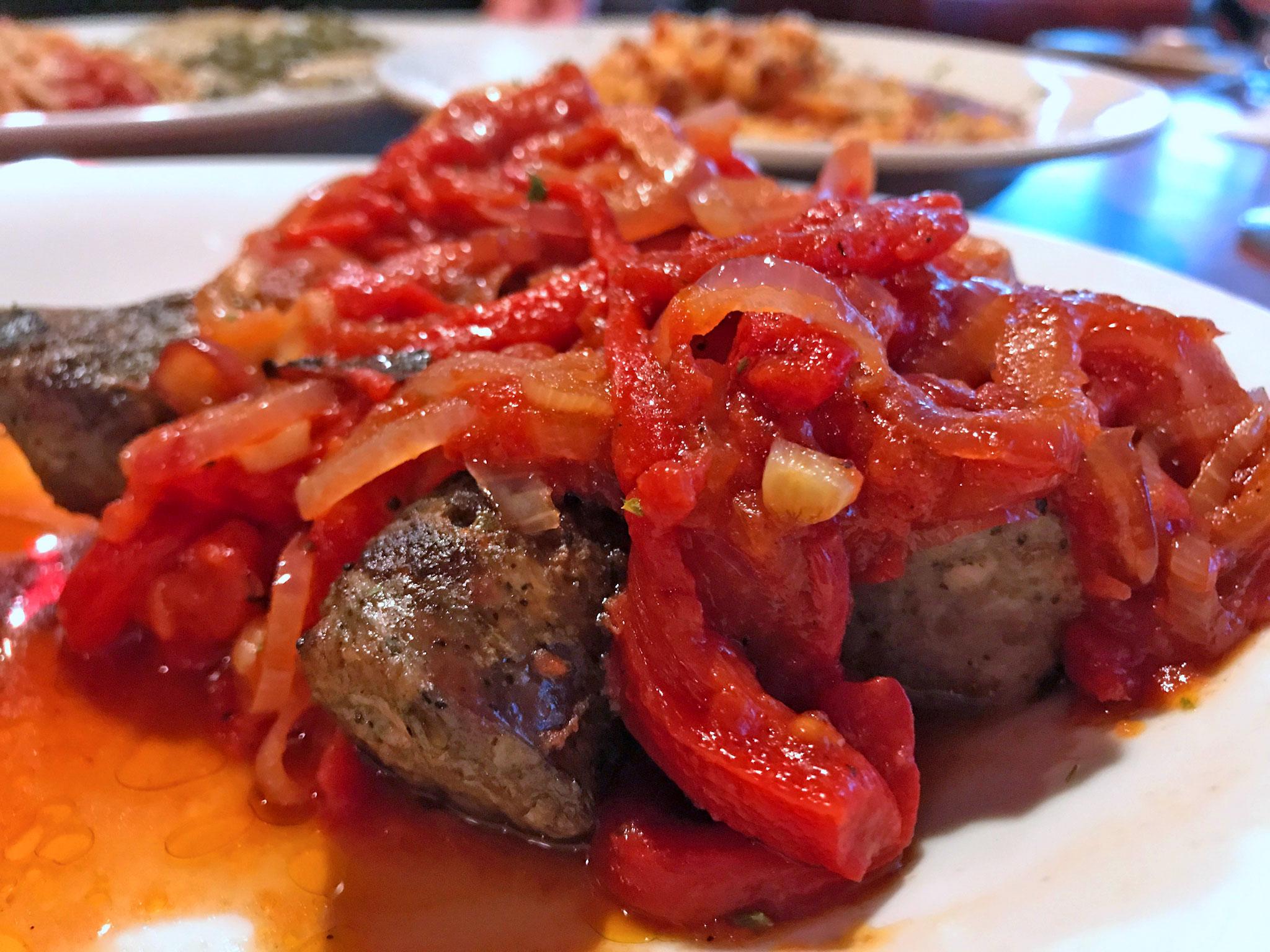 Italian Sausage (Sausage & Peppers) at Cafe Cibo