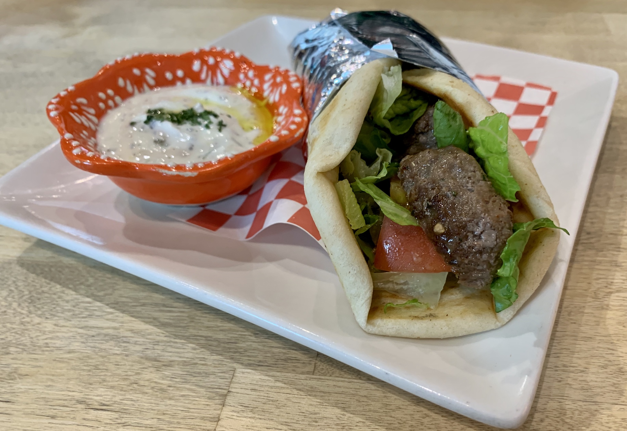 Mio's Grill & Cafe Grilled Meatball Sandwich