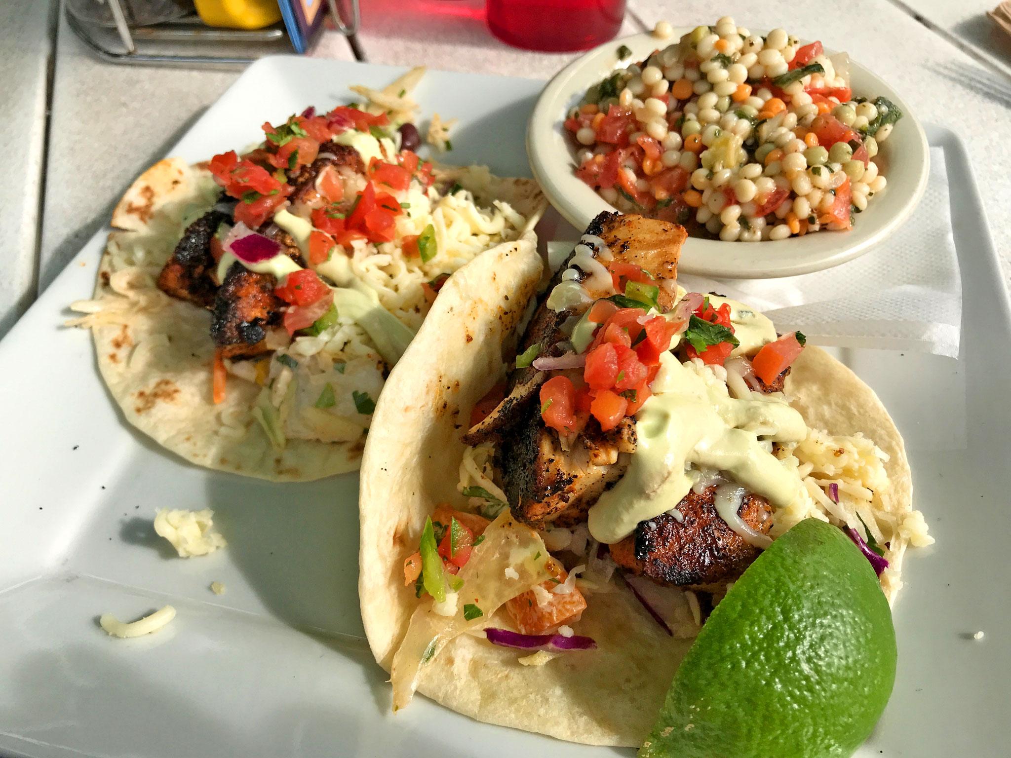 O'Maddys Mahi Tacos