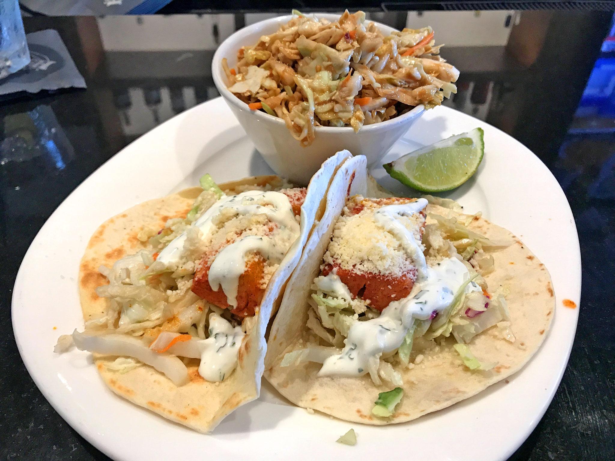 Rumfish Grill Fish Tacos