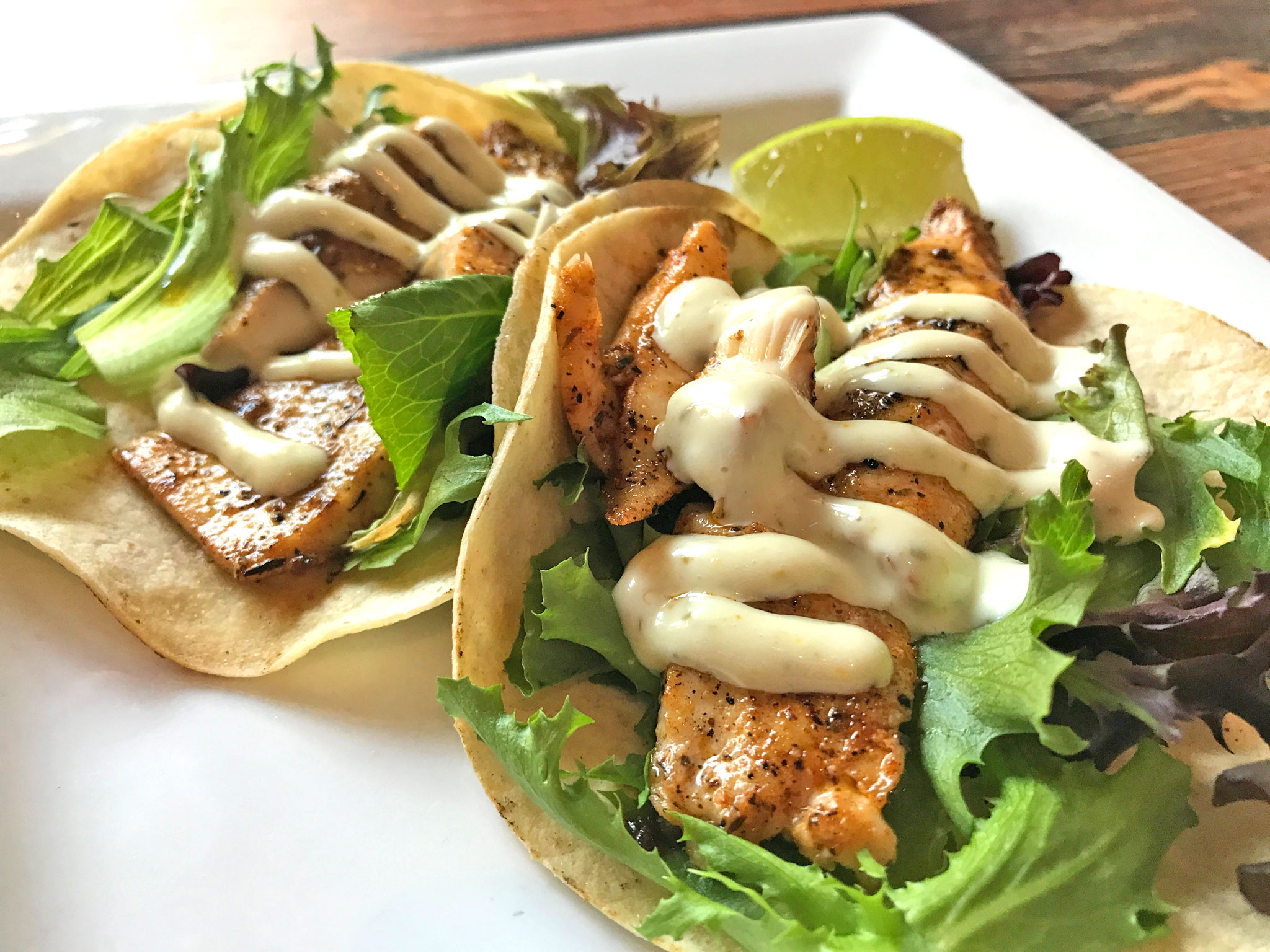 The Lure Fish Tacos