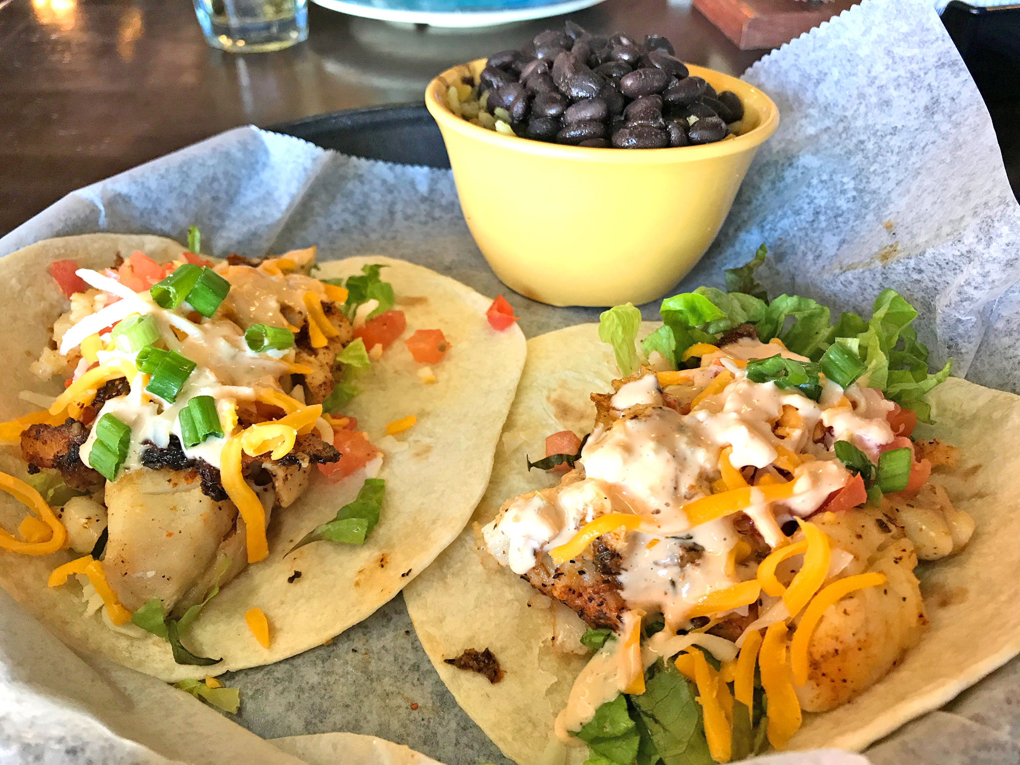 The Toasted Monkey Fish Tacos