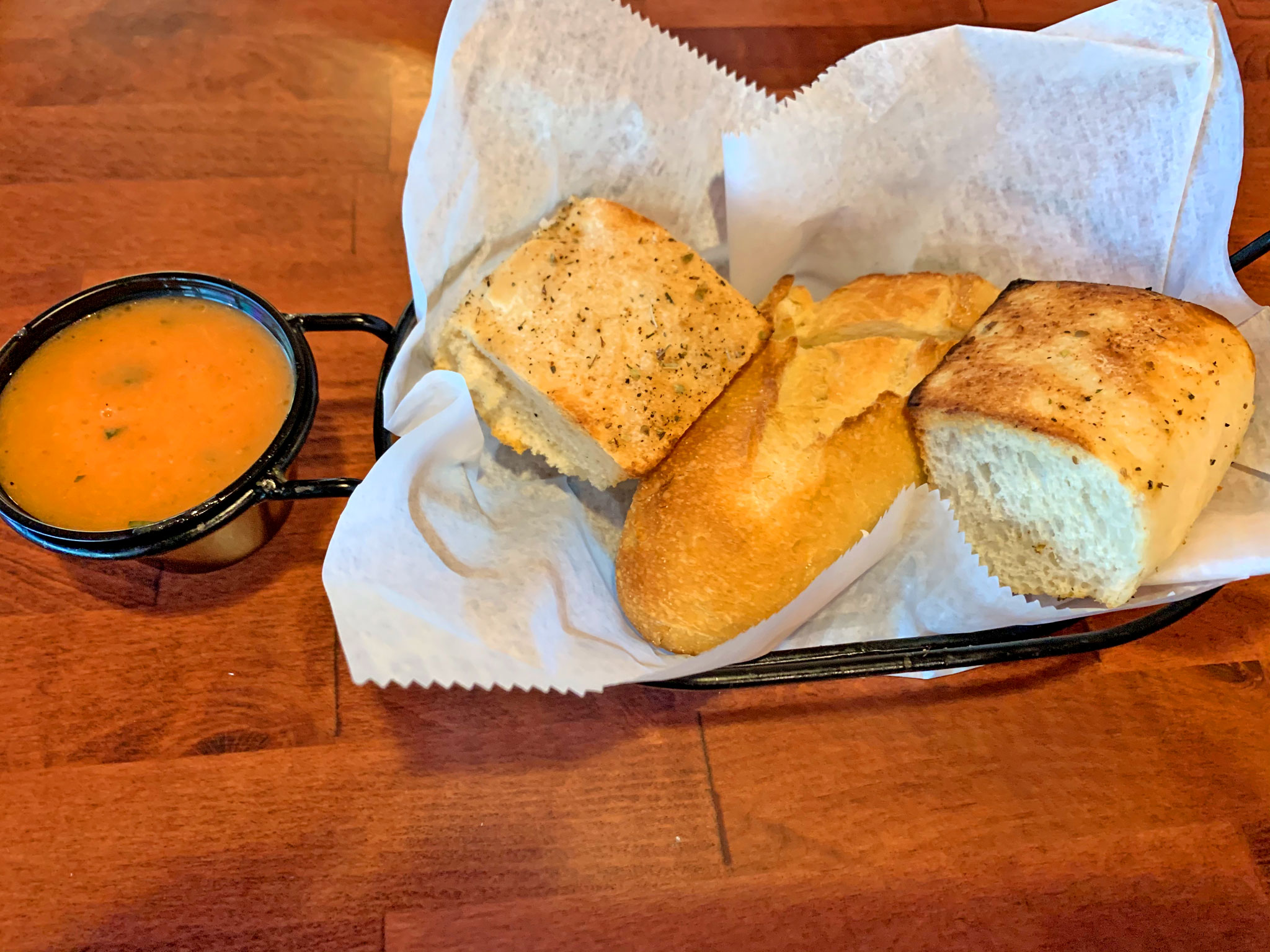 Very Good Italian Bread, and the Famous Dipping Sauce