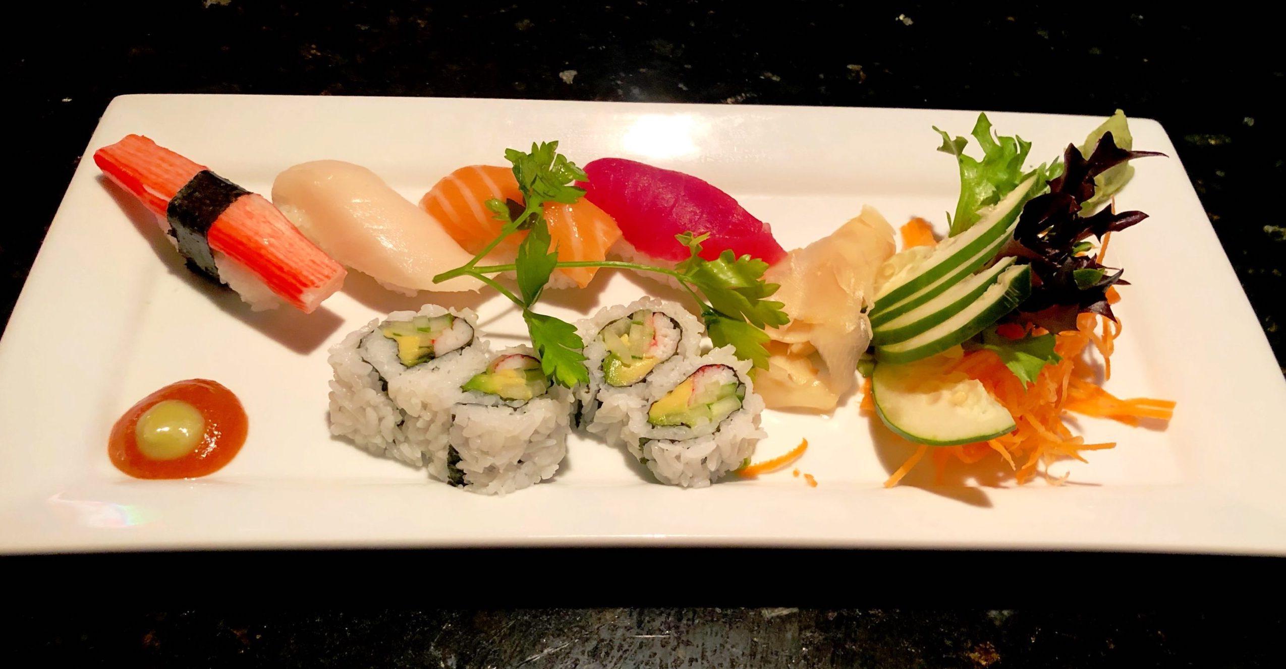 Blue Fugu Sushi Appetizer
