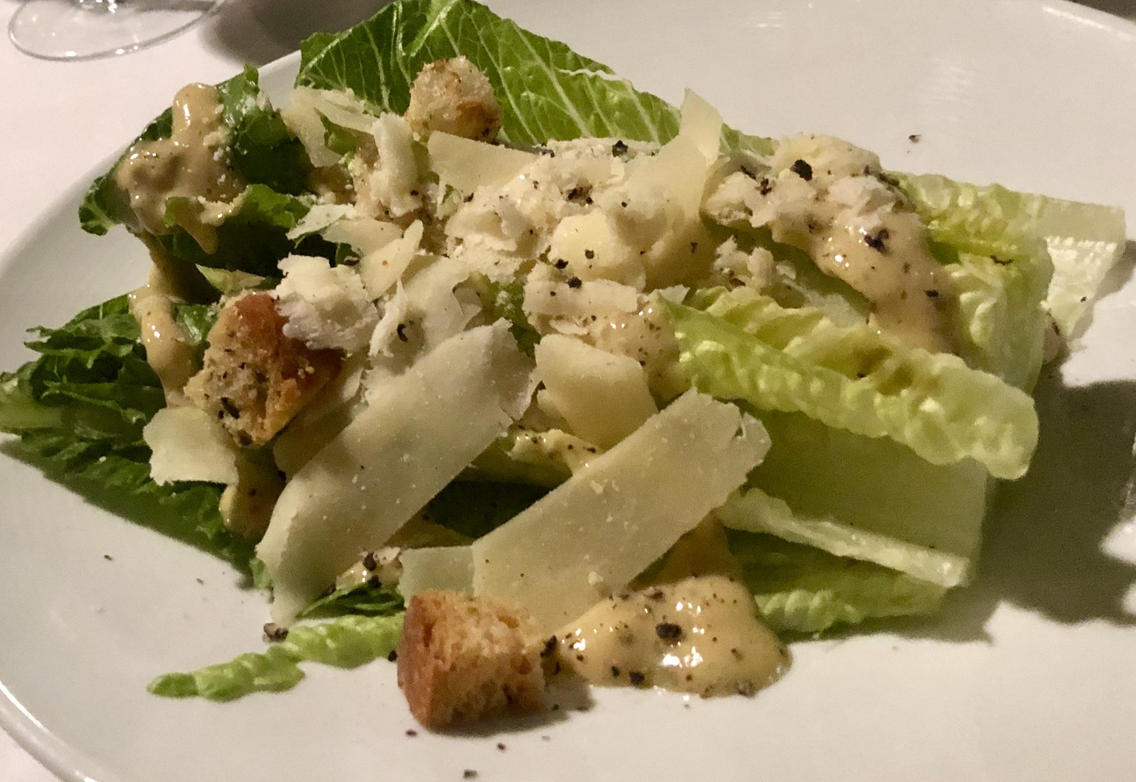 Gratzzi Caesar Salad