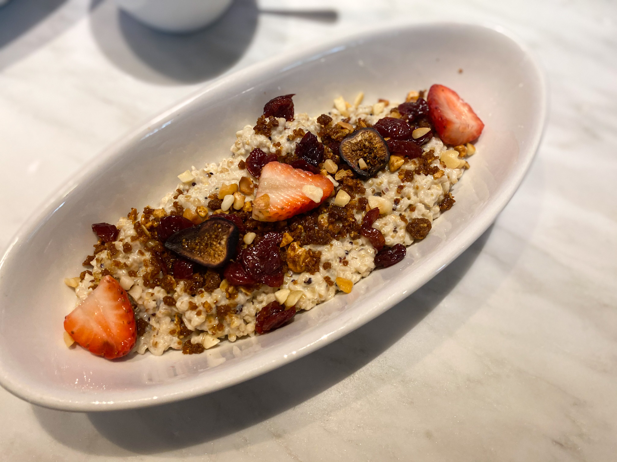Quinoa Oatmeal at The Dewey