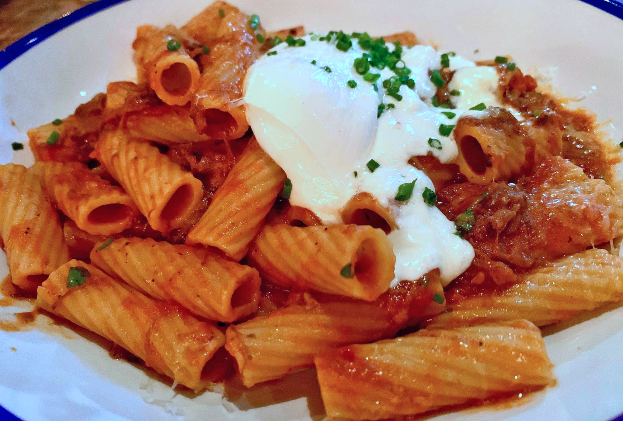 Short Rib Ragu with Burrata