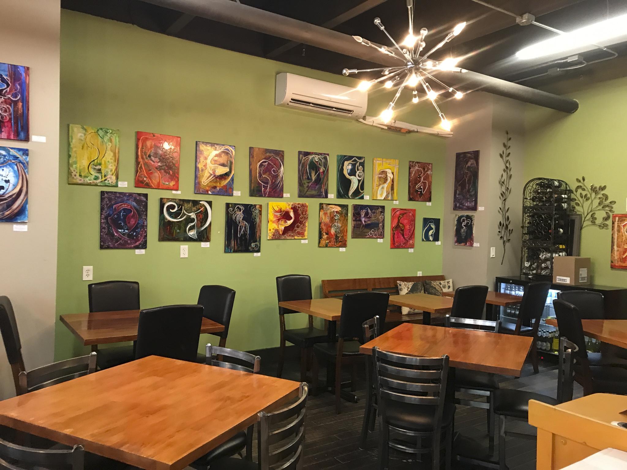 Interior at Mickey's Café & Organics