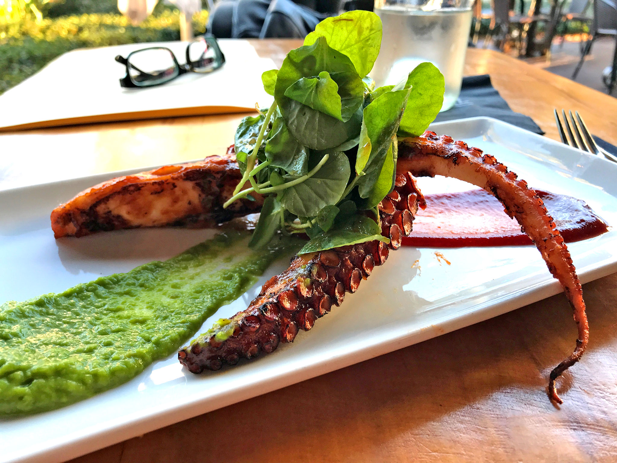 The Mill Grilled Octopus
